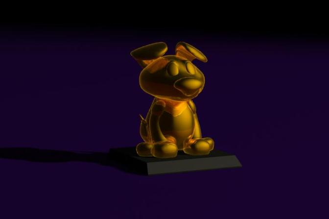 Gold Figurine
