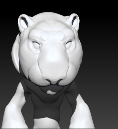 Work in Progress Tiger