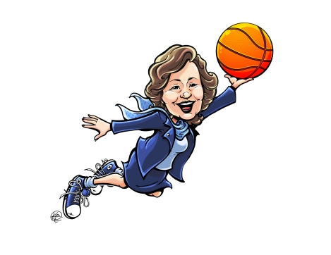 Final March Madness Caricature